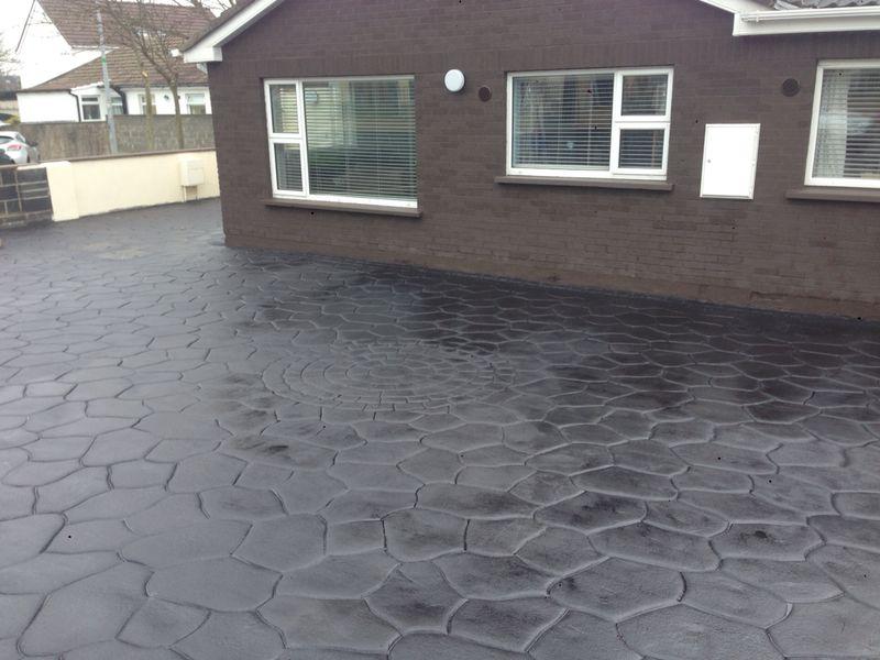 Patterned Imprinted Concrete Dublin 53
